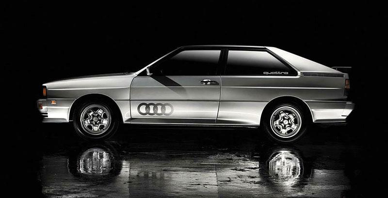 Audi Quattro: Třicet let pohonu všech kol: - fotka 7