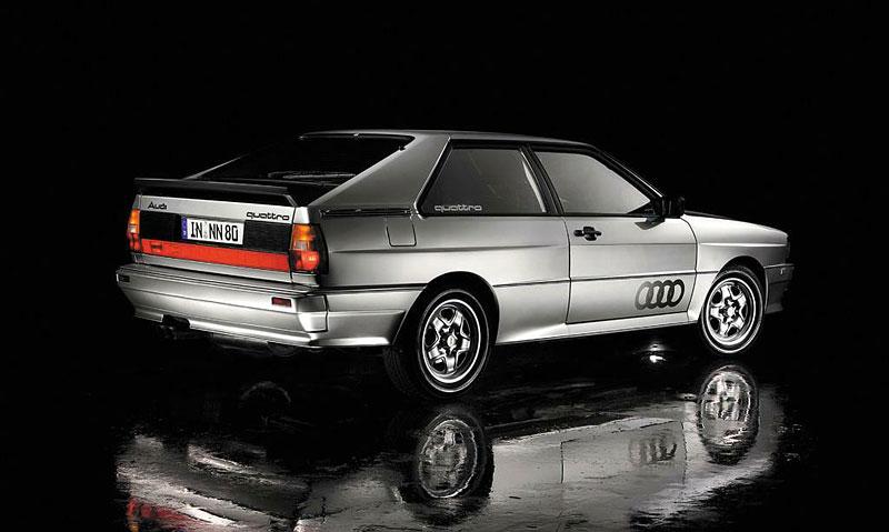 Audi Quattro: Třicet let pohonu všech kol: - fotka 8