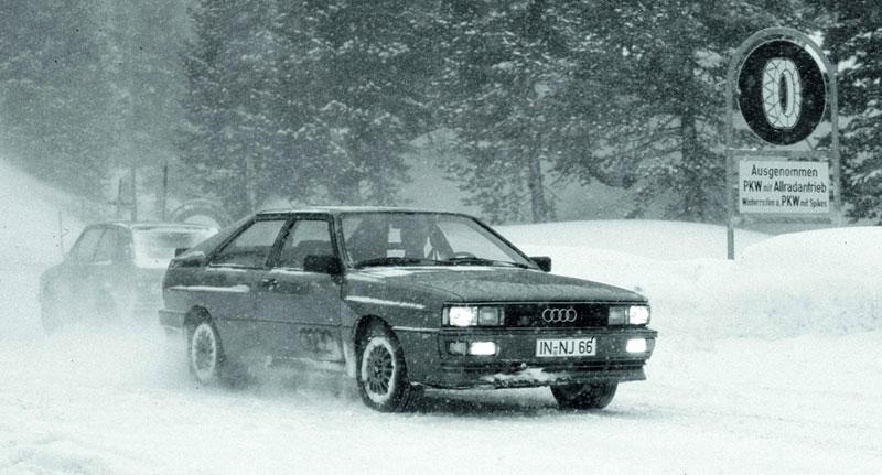 Audi Quattro: Třicet let pohonu všech kol: - fotka 10