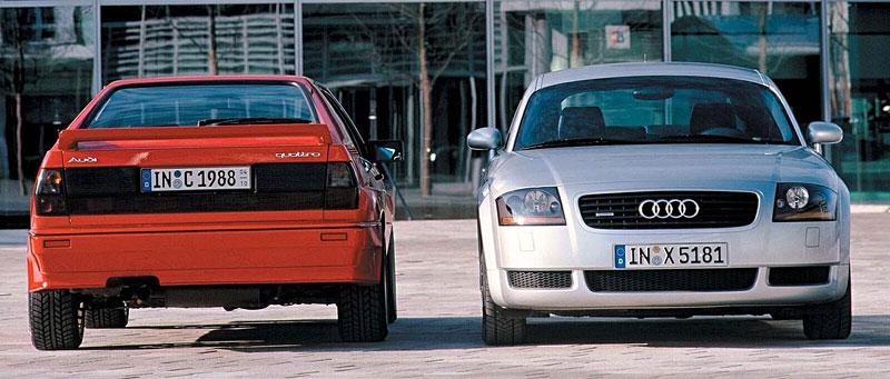 Audi Quattro: Třicet let pohonu všech kol: - fotka 12