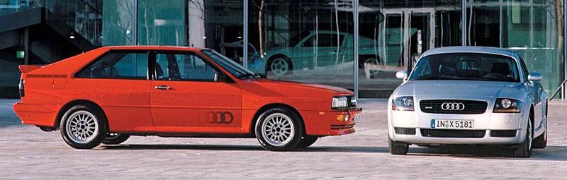 Audi Quattro: Třicet let pohonu všech kol: - fotka 13