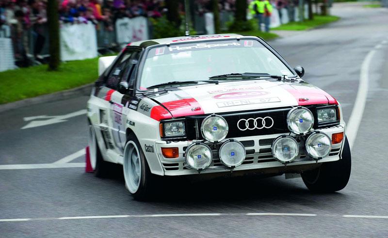 Audi Quattro: Třicet let pohonu všech kol: - fotka 14
