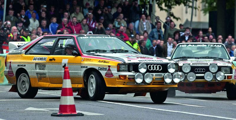 Audi Quattro: Třicet let pohonu všech kol: - fotka 15