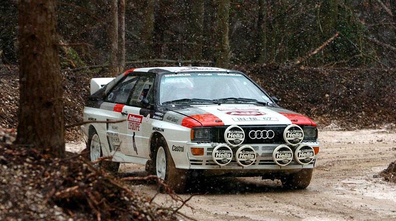 Audi Quattro: Třicet let pohonu všech kol: - fotka 16