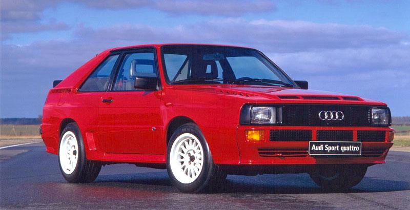 Audi Quattro: Třicet let pohonu všech kol: - fotka 18