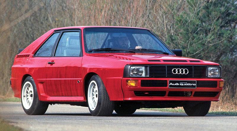 Audi Quattro: Třicet let pohonu všech kol: - fotka 19