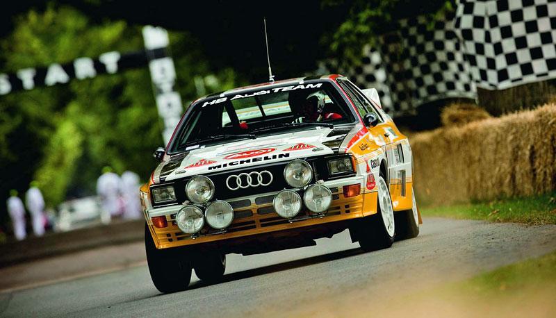 Audi Quattro: Třicet let pohonu všech kol: - fotka 21