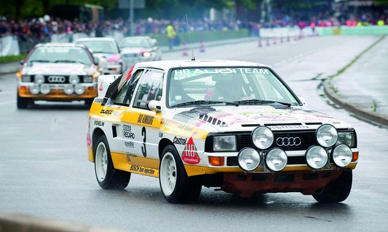Audi Quattro: Třicet let pohonu všech kol: - fotka 23