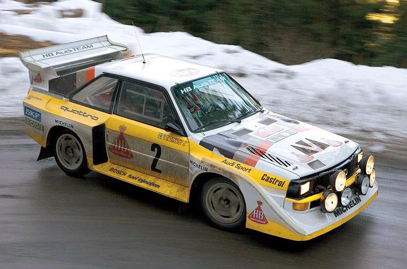 Audi Quattro: Třicet let pohonu všech kol: - fotka 24