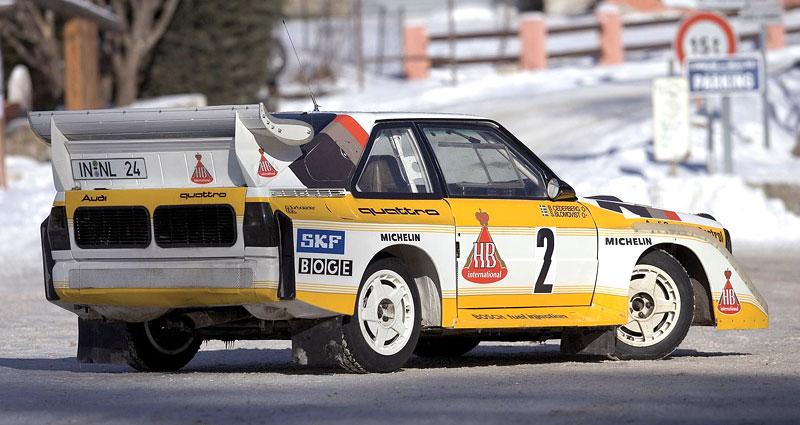 Audi Quattro: Třicet let pohonu všech kol: - fotka 25