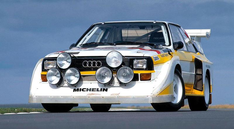 Audi Quattro: Třicet let pohonu všech kol: - fotka 26