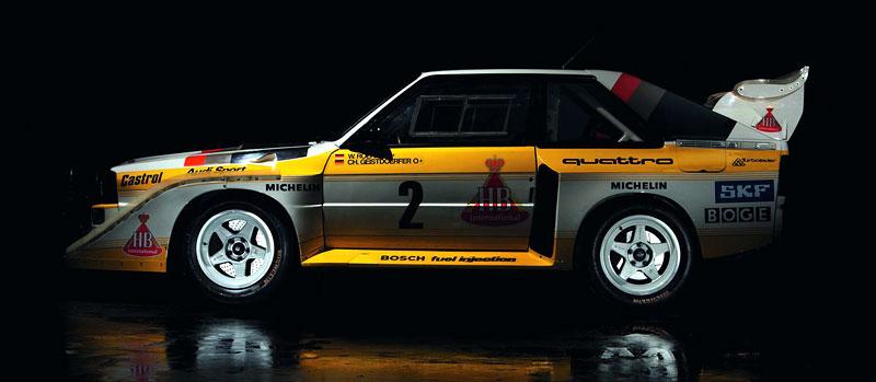 Audi Quattro: Třicet let pohonu všech kol: - fotka 29
