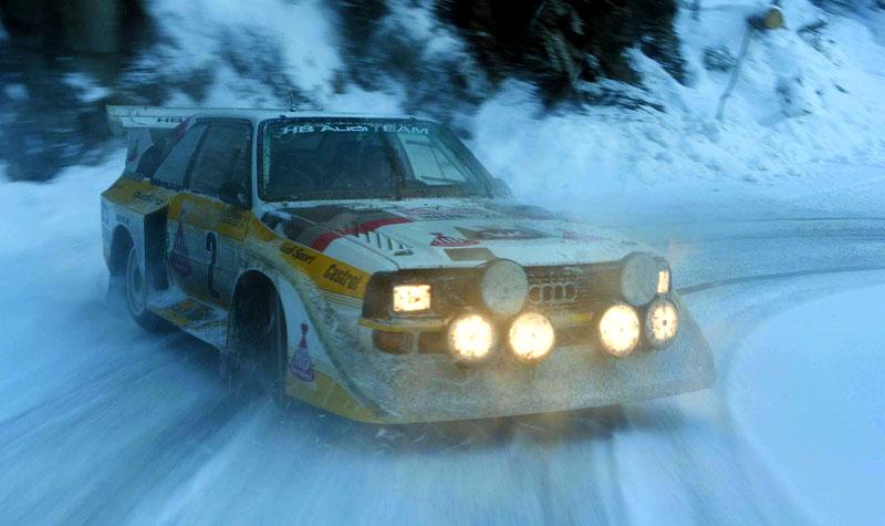Audi Quattro: Třicet let pohonu všech kol: - fotka 31