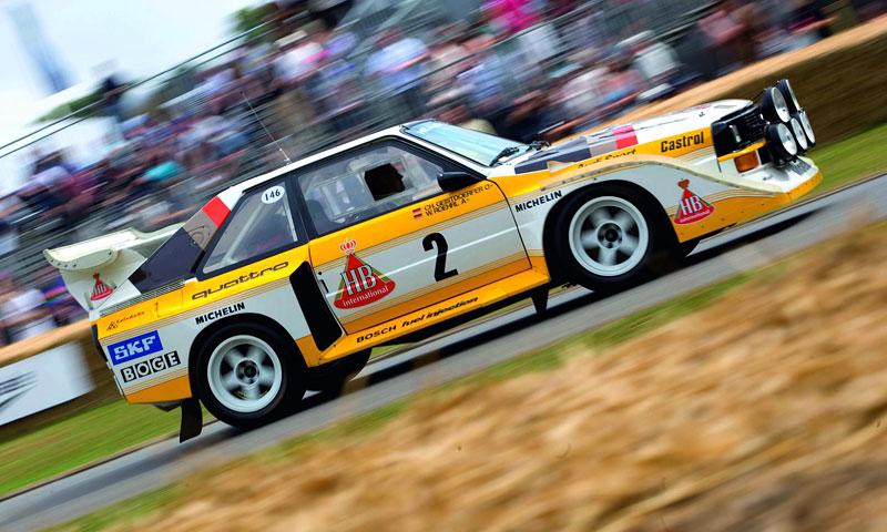 Audi Quattro: Třicet let pohonu všech kol: - fotka 32