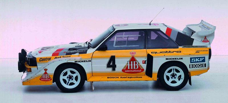 Audi Quattro: Třicet let pohonu všech kol: - fotka 33