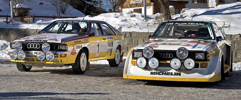 Audi Quattro: Třicet let pohonu všech kol: - fotka 34