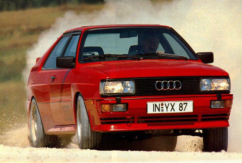 Audi Quattro: Třicet let pohonu všech kol: - fotka 35