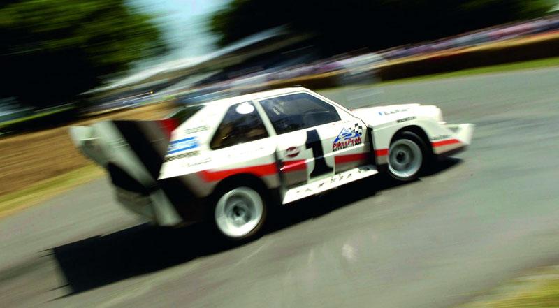 Audi Quattro: Třicet let pohonu všech kol: - fotka 37