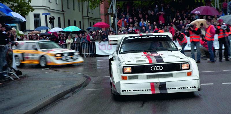 Audi Quattro: Třicet let pohonu všech kol: - fotka 38