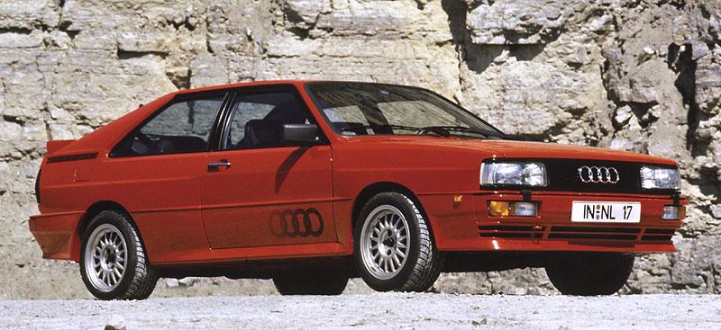 Audi Quattro: Třicet let pohonu všech kol: - fotka 41