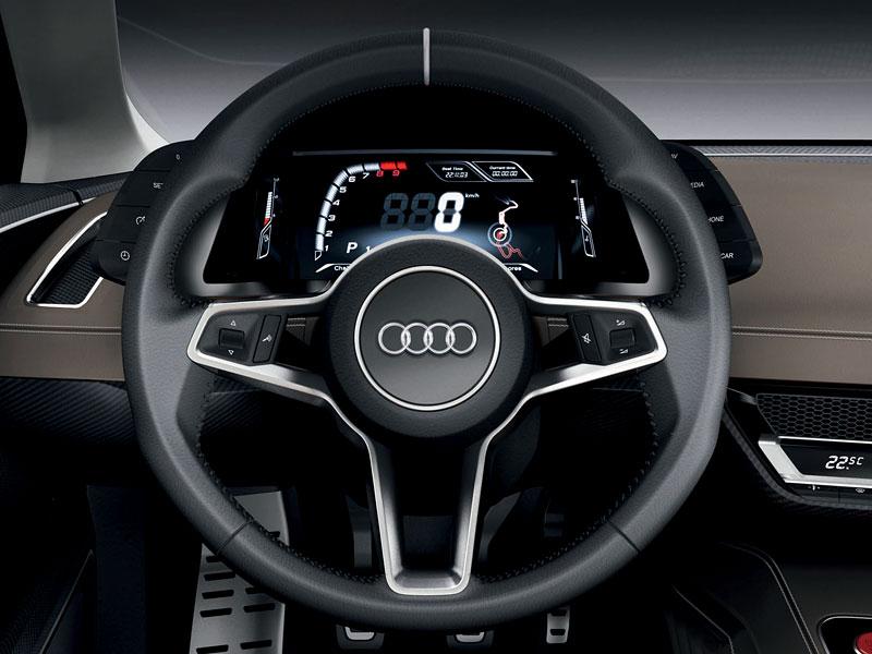 Paříž 2010: Audi quattro concept: - fotka 1
