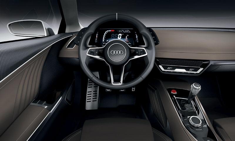 Paříž 2010: Audi quattro concept: - fotka 2