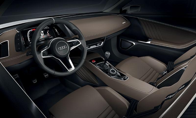 Paříž 2010: Audi quattro concept: - fotka 3