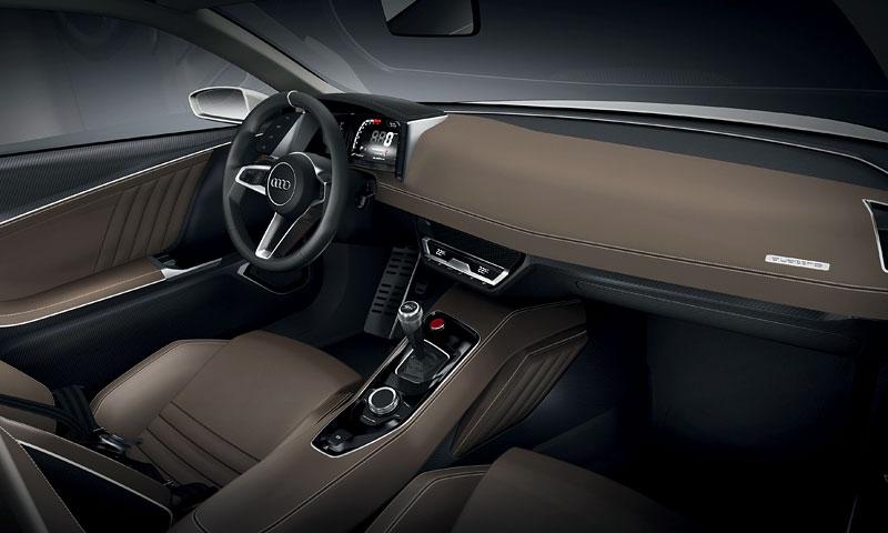 Paříž 2010: Audi quattro concept: - fotka 4