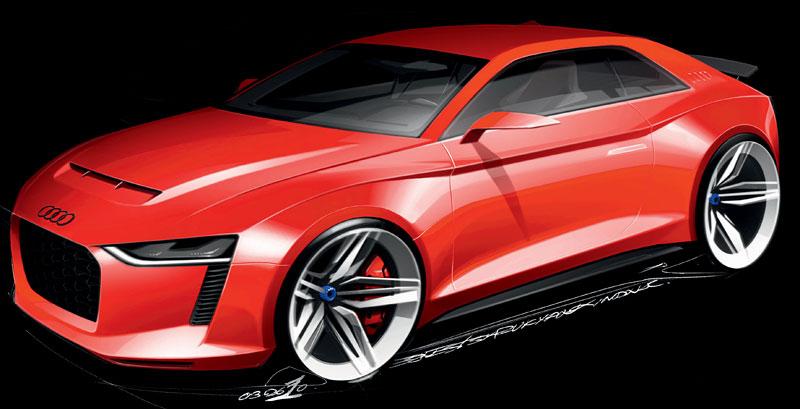 Paříž 2010: Audi quattro concept: - fotka 34