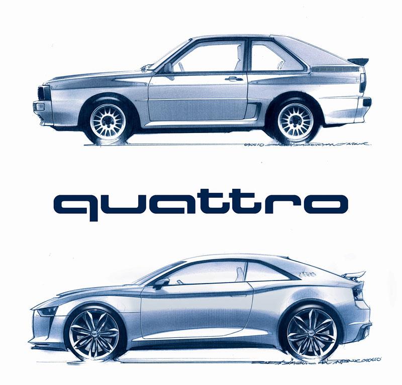 Paříž 2010: Audi quattro concept: - fotka 35