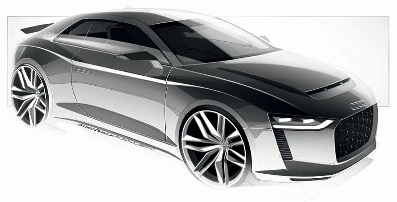 Paříž 2010: Audi quattro concept: - fotka 36