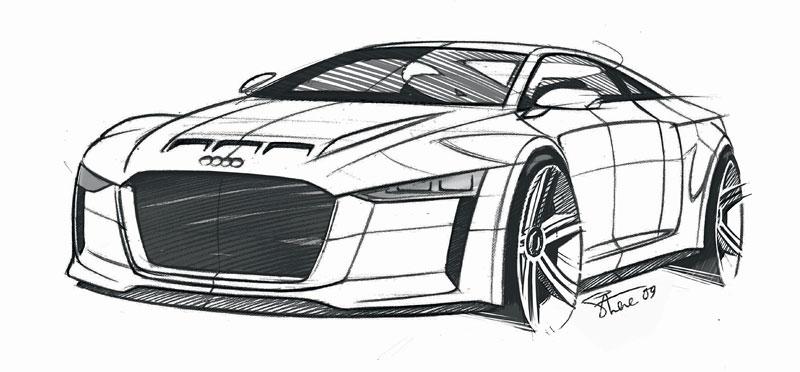 Paříž 2010: Audi quattro concept: - fotka 44