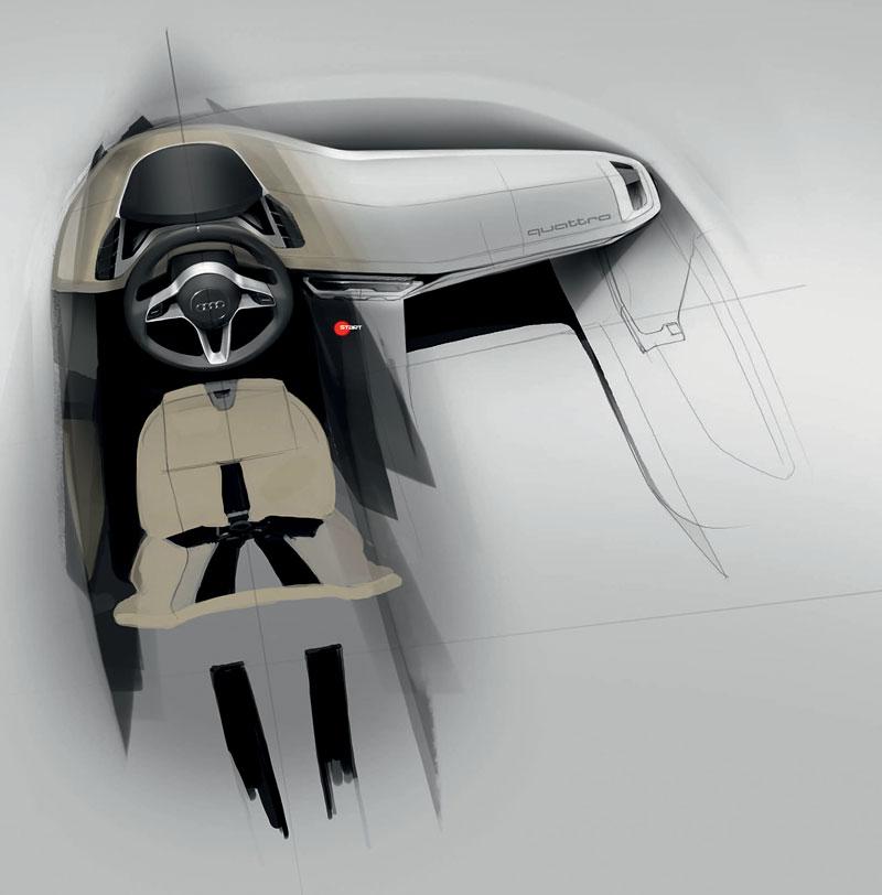 Paříž 2010: Audi quattro concept: - fotka 46