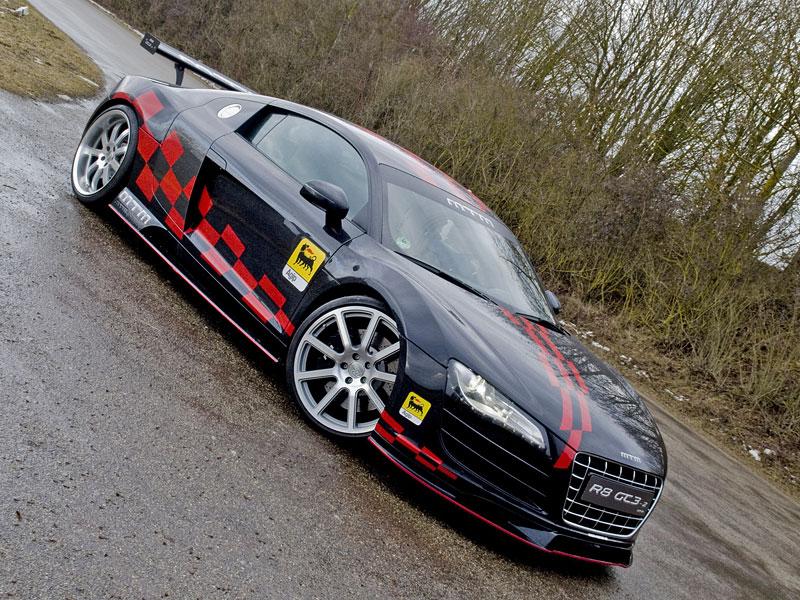 MTM R8 GT3-2: pohon zadních kol pro Audi R8: - fotka 2