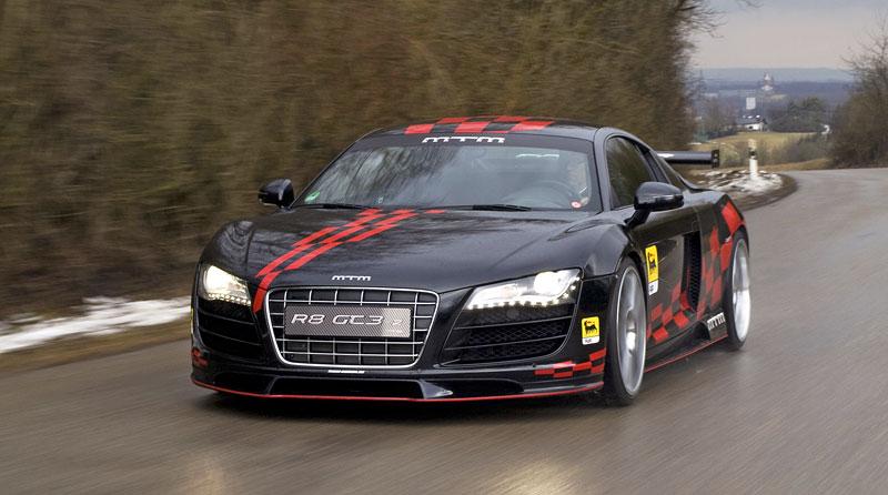 MTM R8 GT3-2: pohon zadních kol pro Audi R8: - fotka 4
