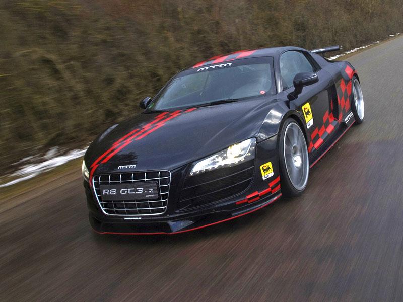 MTM R8 GT3-2: pohon zadních kol pro Audi R8: - fotka 6