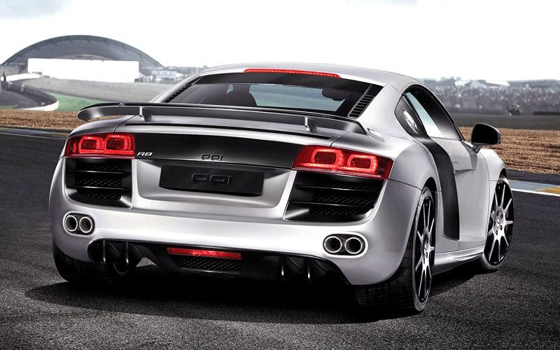 Essen 2007: PPI se mrklo na zoubek, ehm... spíše motor Audi R8: - fotka 2