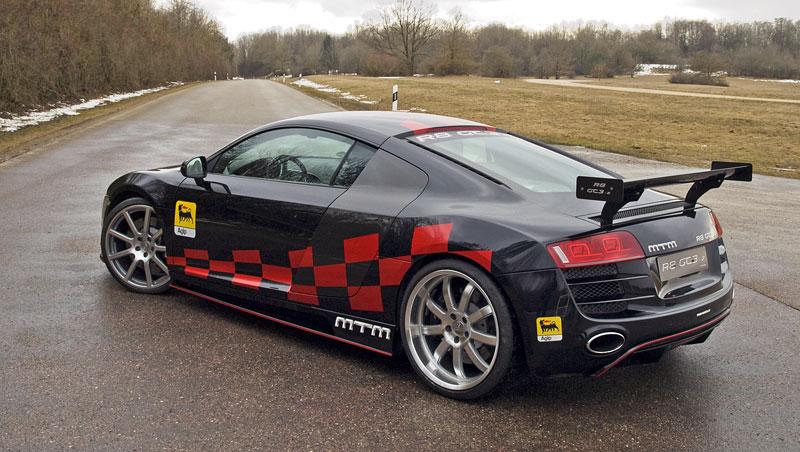 MTM R8 GT3-2: pohon zadních kol pro Audi R8: - fotka 7