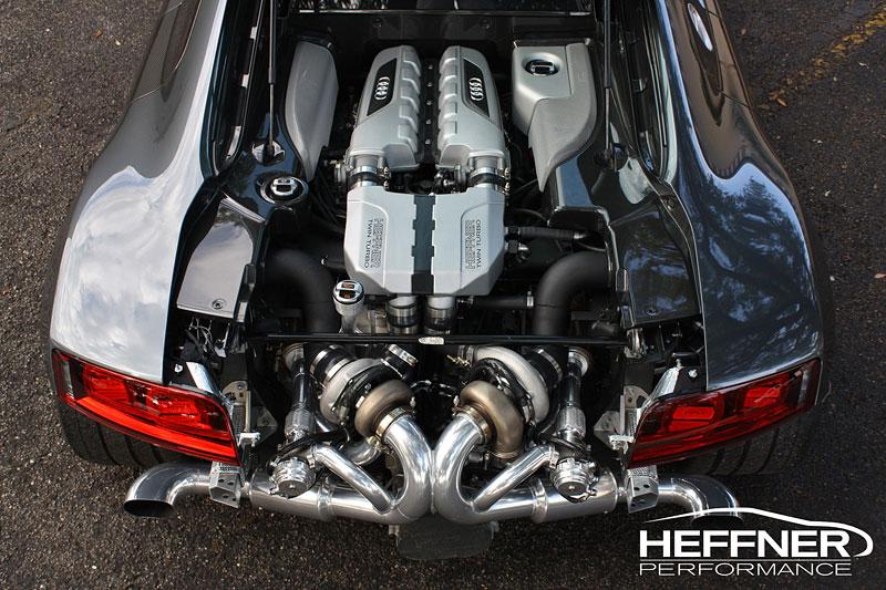 Audi R8: Twin Turbo od Heffner Performance: - fotka 4