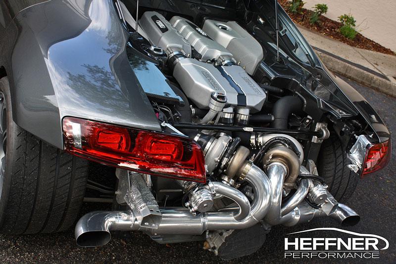 Audi R8: Twin Turbo od Heffner Performance: - fotka 5