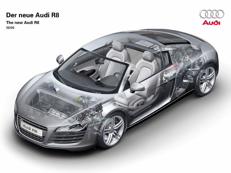 Audi R8 dostane motor V10 s turbem!: - fotka 32