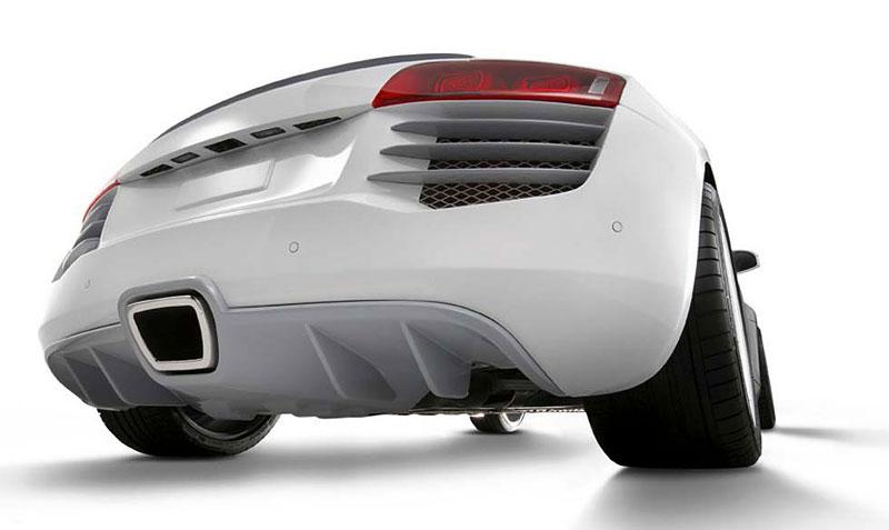 Eisenmann Audi R8 Spark Eight: nejen výfuk...: - fotka 3