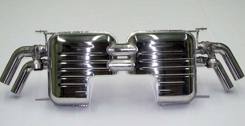 Eisenmann Audi R8 Spark Eight: nejen výfuk...: - fotka 4