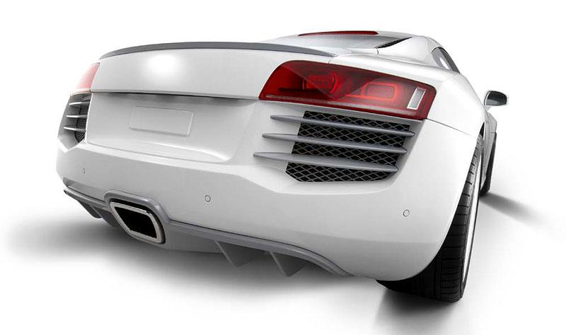 Eisenmann Audi R8 Spark Eight: nejen výfuk...: - fotka 6