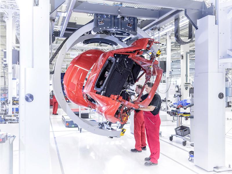 Za volantem: Audi R8: - fotka 132