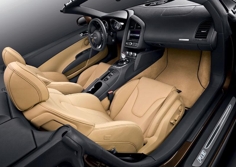 Audi R8 Spyder: po Paříži i s osmiválcem: - fotka 3