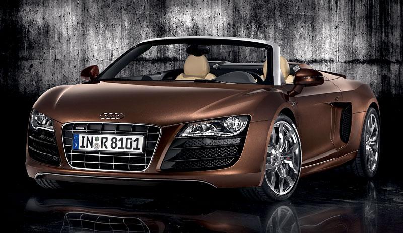 Audi R8 Spyder: po Paříži i s osmiválcem: - fotka 11