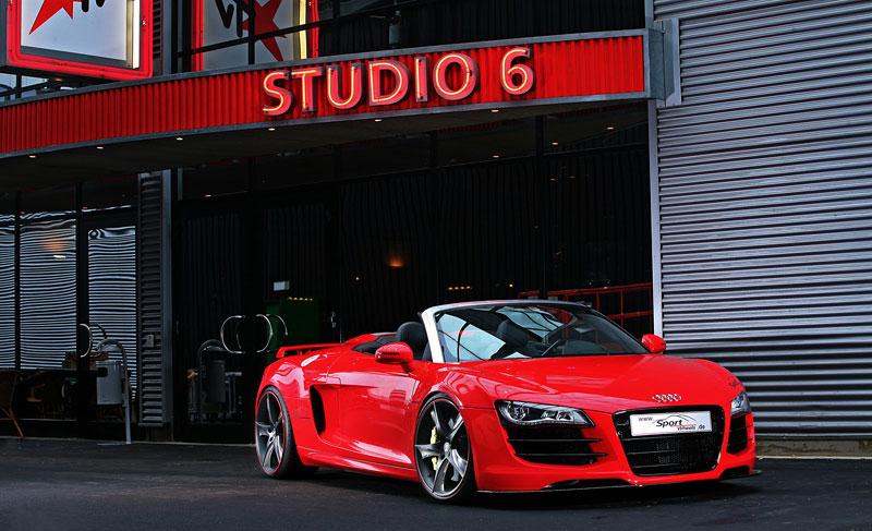 Audi R8 Spyder: vymazlená úprava od Sport Wheels: - fotka 5