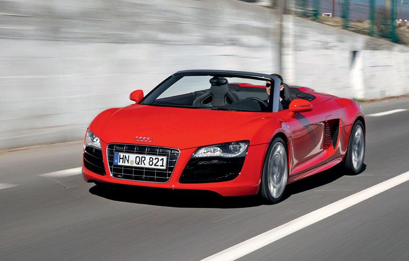 Audi R8 Spyder: po Paříži i s osmiválcem: - fotka 19