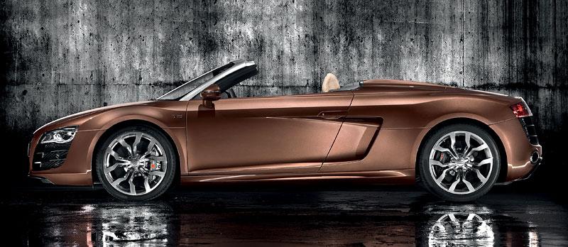 Audi R8 Spyder: po Paříži i s osmiválcem: - fotka 24